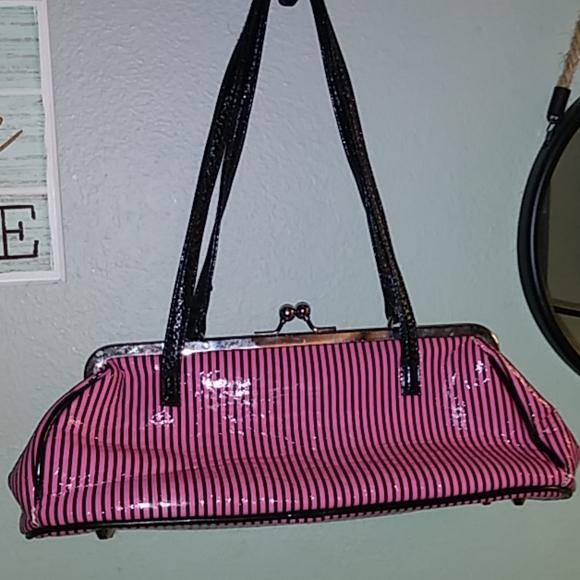Handbags - Pink and Black Purse